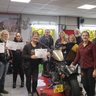 12-9 Basis workshop motorfiets onderhoud GERATEL